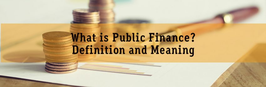 What Is Public Finance Definition And Meaning
