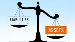 key assets and liabilities