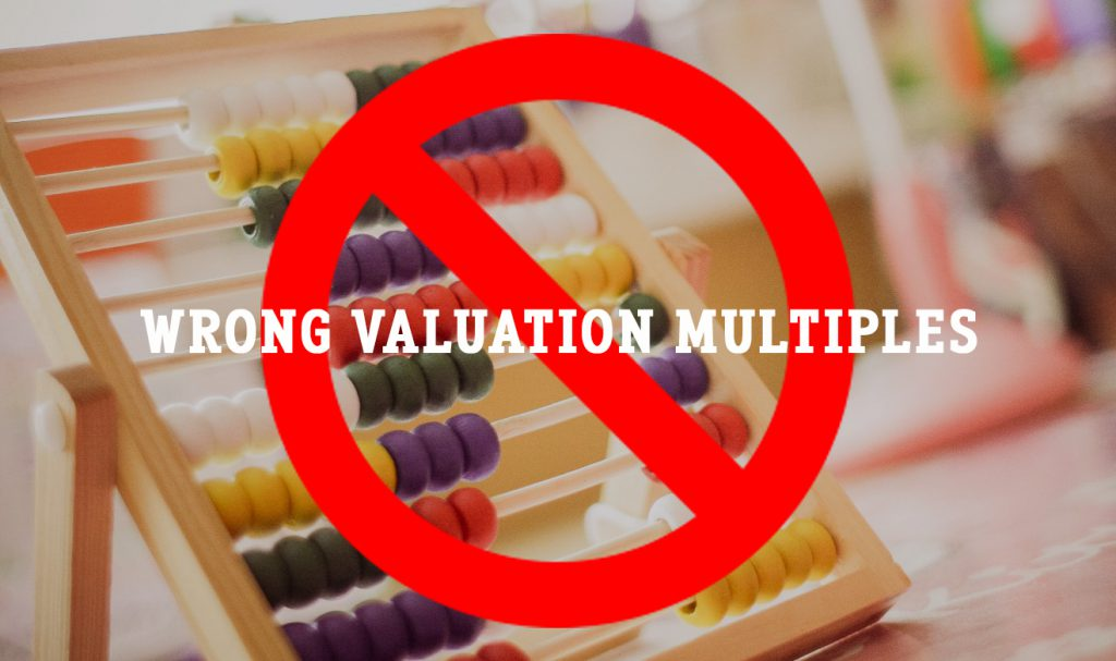 wrong valuation multiples