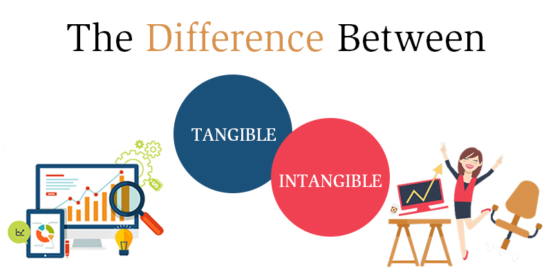 Differences between tangible and intangible assets