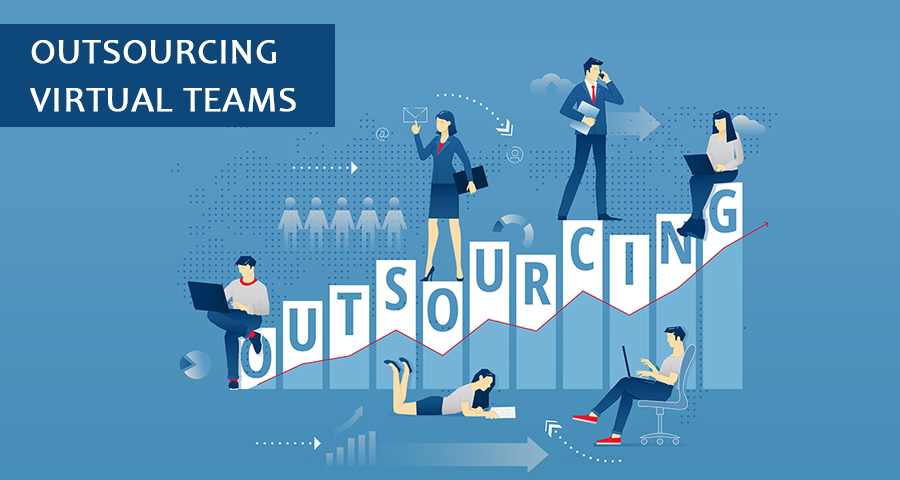 Outsourcing virtual teams