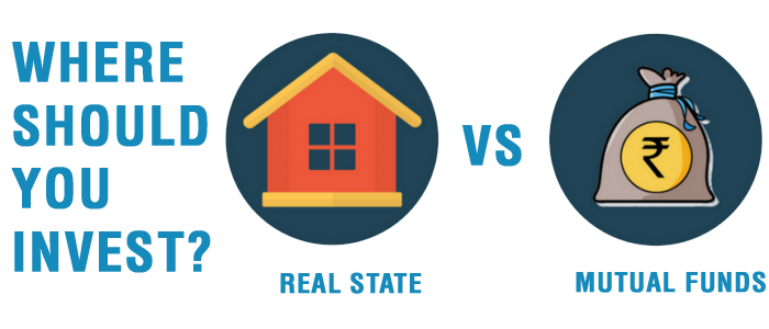 Real Estate vs Mutual Funds